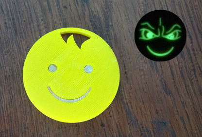 image of Night and Day Smiley