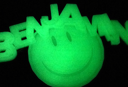 image of GLOW-IN-THE-DARK NAME TAG