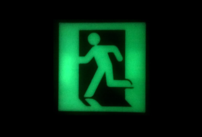 image of HOME-USE SAFETY EXIT SIGN